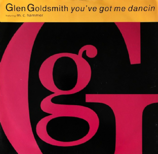 "Glen Goldsmith ft MC Hammer - You've Got Me Dancin (12"") (VG-/VG-)"